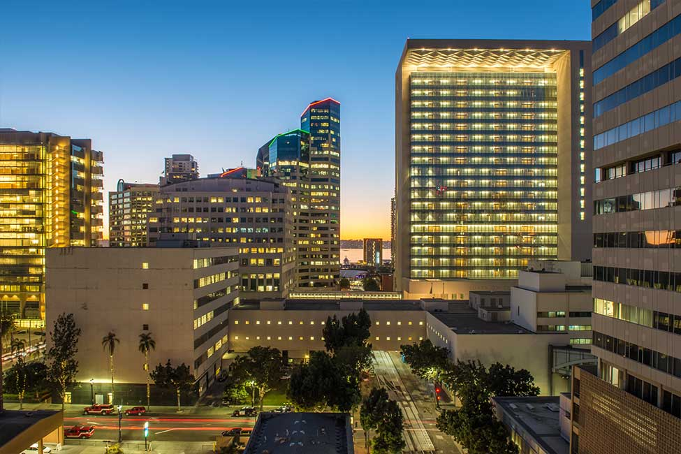 photo of downtown san diego